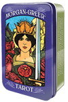 Morgan-Greer Tarot in a Tin Tarot Deck