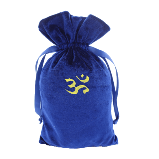 Tarot Bag with Gold Om Bag