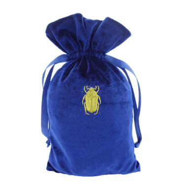 Tarot Bag with Gold Scarab Bag
