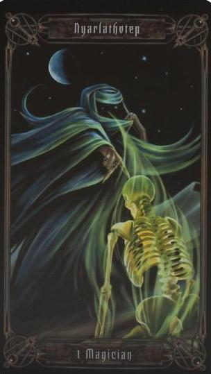 The Necronomicon Tarot Tarot Deck
