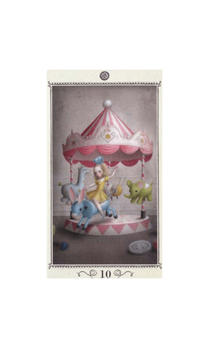 Ceccoli Mini Tarot Tarot Deck