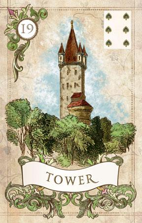 Old Style Lenormand Lenormand Deck