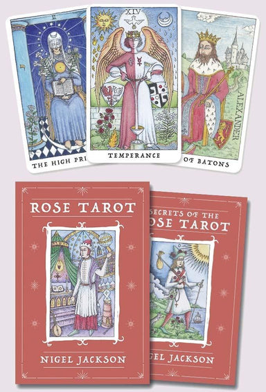 Rose Tarot by Nigel Jackson Tarot Deck