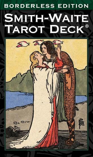 Smith-Waite Tarot Deck Borderless Tarot Deck