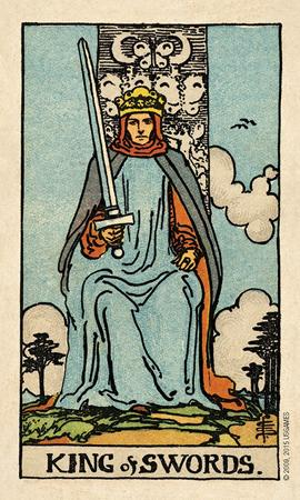 Smith-Waite Centennial Tarot Deck in a Tin Tarot Deck