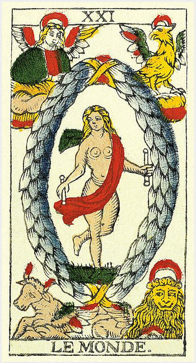 <p>TAROT FROM PIERRE MADENIÉ </p> <p><em>Dijon 1709, France</em></p> Tarot Deck