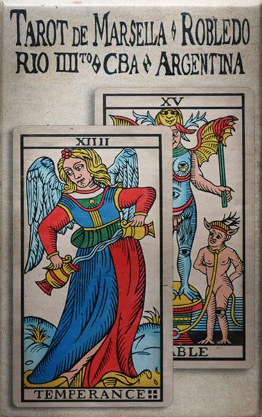 Tarot De Marsella by Pablo Robledo sixth edition Tarot Deck