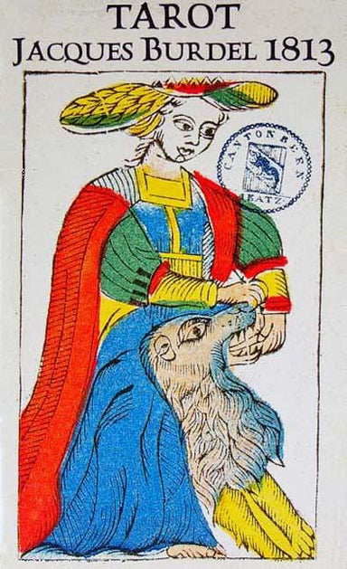 TAROT by Jacques Burdel </p> <p><em>Fribourg 1813, Switzerland</em></p> Tarot Deck