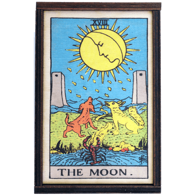 The Moon Card Tarot Box Box