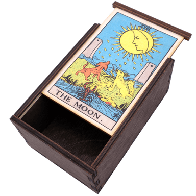 Moon Card Tarot Box Box
