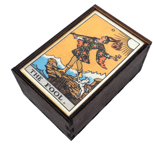 The Fool Tarot Box Box