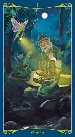 Tarot of the Celtic Fairies Deck Tarot Deck