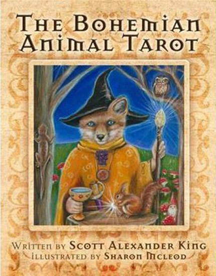 The Bohemian Animal Tarot Tarot Kit