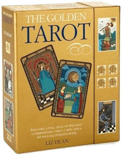 Golden Tarot - Liz Dean Book