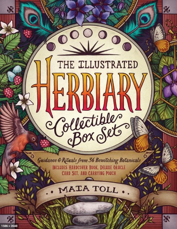 The Illustrated Herbiary Collectible box set Oracle Kit