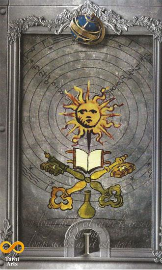 The Lost Tarot of Nostradamus kit Tarot Kit
