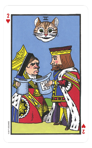 The Wonderland Tarot Tarot Deck