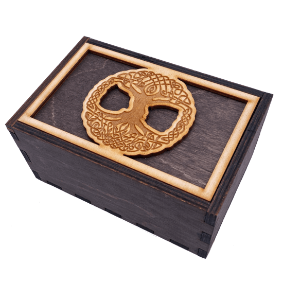 Tree of Life Tarot Box Box