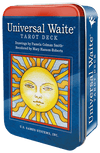 Universal Waite Tarot Deck in a Tin Tarot Deck