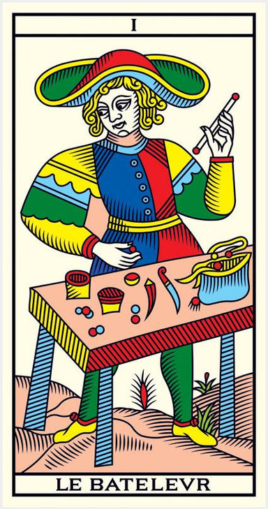 The Tarot of Mareslilles Millennium by Wilfried Houdouin </p> <p><em>Marseilles 2014, France</em></p> Tarot Deck