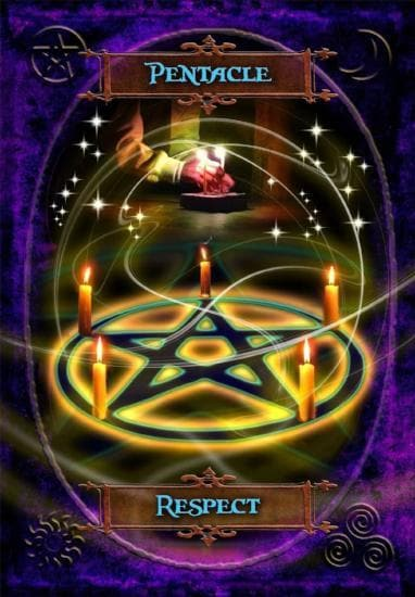 Witches' Wisdom Oracle Cards Oracle Deck