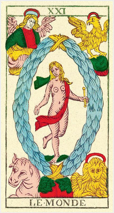 TAROT by Nicolas Conver </p> <p><em>Marseilles, France</em></p> Tarot Deck
