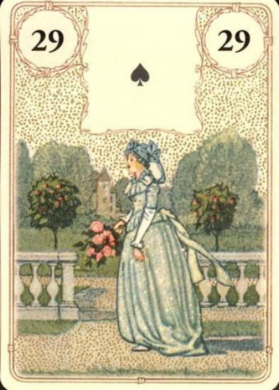 Golden Lenormand Oracle Lenormand Deck