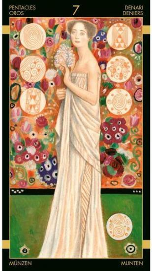 Golden Tarot of Klimt Tarot Deck
