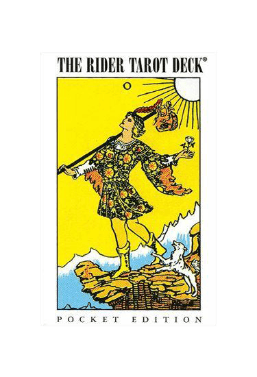 Pocket Rider-Waite Tarot Tarot Deck