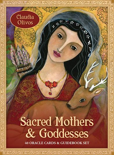 Sacred Mothers and Goddesses: 40 Oracle Cards & Guidebook Set Oracle Kit