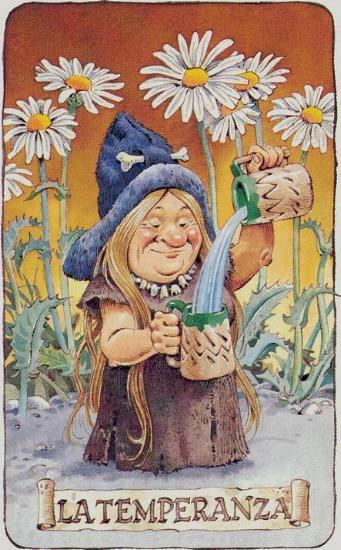 Tarot of the Gnomes Tarot Deck