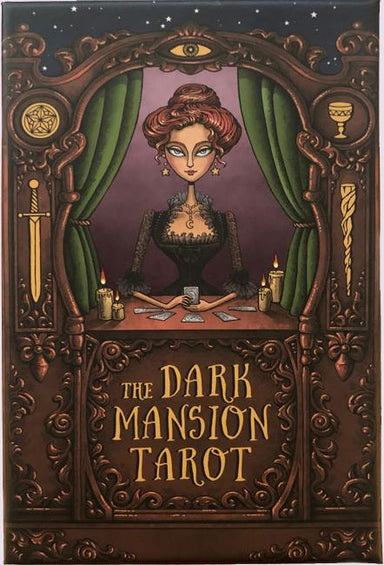 The Dark Mansion Tarot Deck- Standard Size Tarot Deck