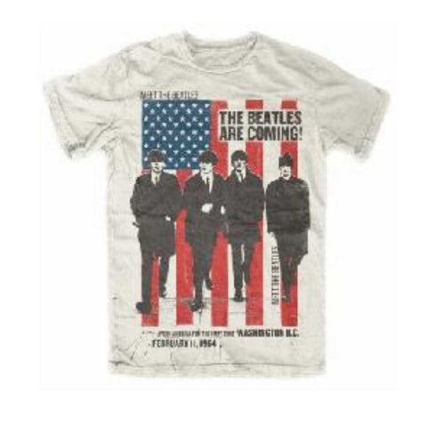 Men's The Beatles | Are Coming T-Shirt
