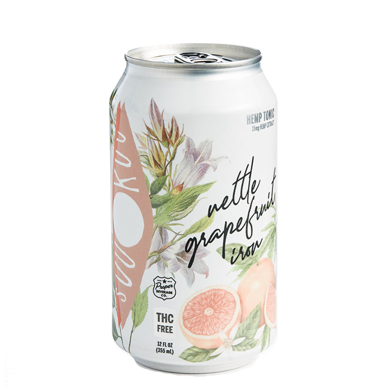Grapefruit Nettle Tonic