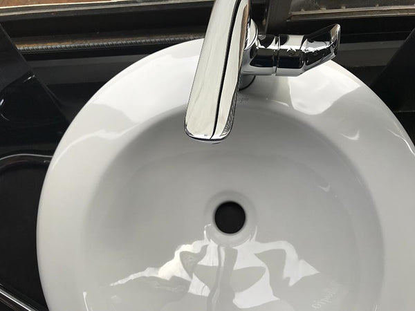 Shave in the sink without clogging the drain