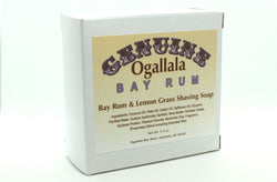 Ogallala Bay Rum & Lemon Grass Shaving Soap