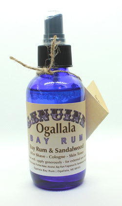 Ogallala Bay Rum & Sandalwood Aftershave