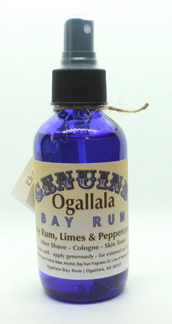 Ogallala Bay Rum Limes & Peppercorns Aftershave