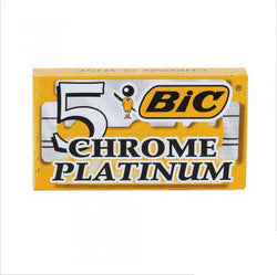 Bic Chrome Platinum Double Edge Safety Razor Blades