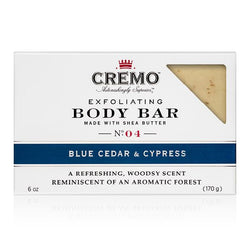 Blue Cedar & Cypress Exfoliating Body Bar