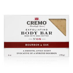 Bourbon & Oak Exfoliating Body Bar