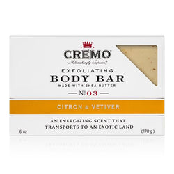 Citron & Vetiver Exfoliating Body Bar