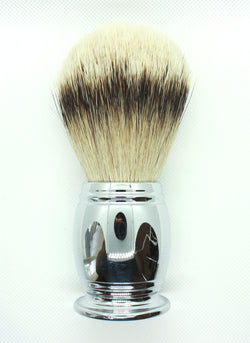 Silvertip Badger Hair Shaving Brush + Metal Alloy Handle
