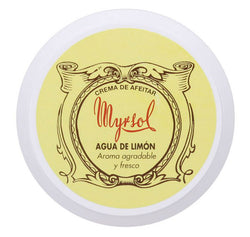 Myrsol Shaving Cream, Agua De Limon