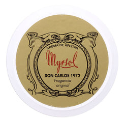 Myrsol Shaving Cream, Don Carlos 1972