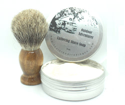 Outdoor Adventurer Shaving Soap