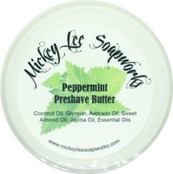 Peppermint Pre-Shave Butter