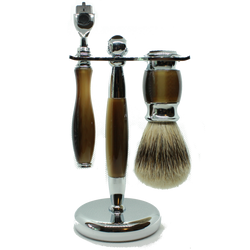 Dark Faux Gillette Mach 3 Shaving Set