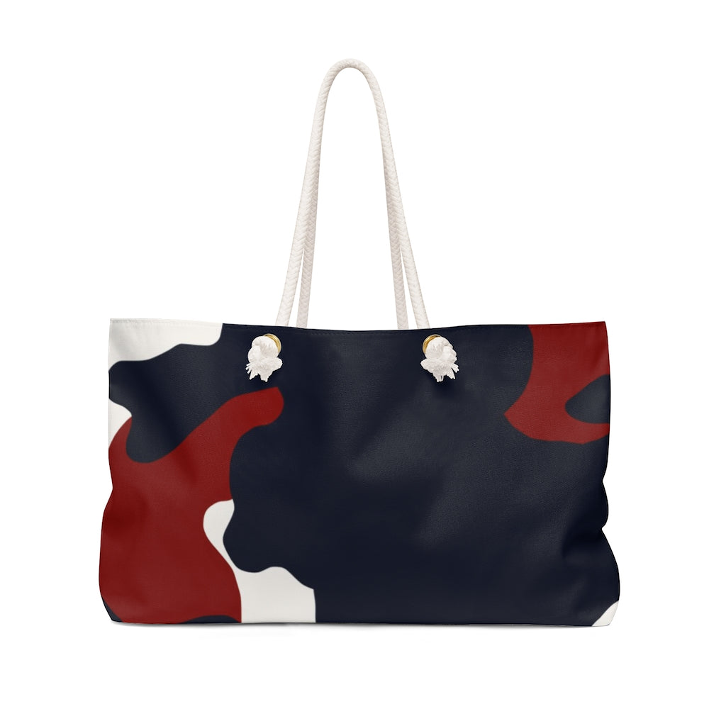 Signature Red White and Blue  Camo- Weekender Bag - [shop_home]