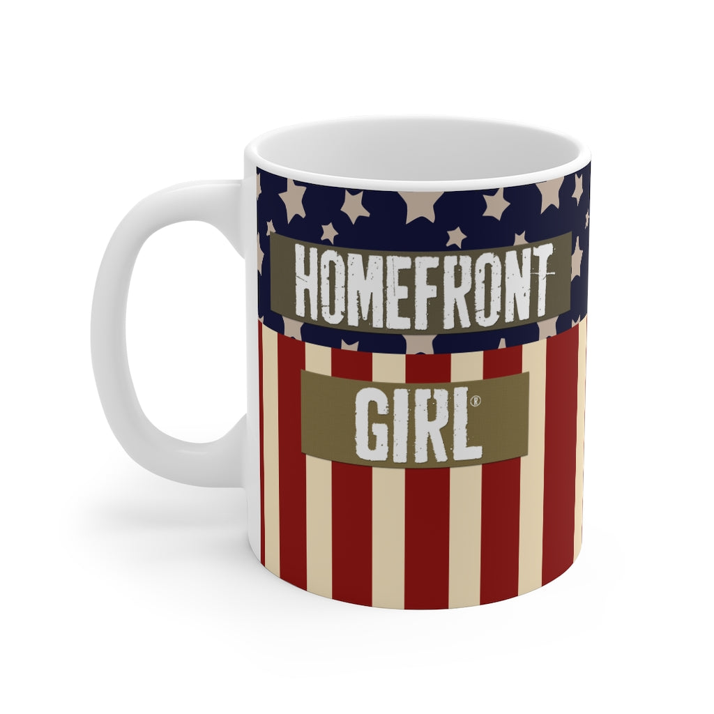 "The Homefront Girl® Signature Mug®"" Mug 11oz - [shop_home]"